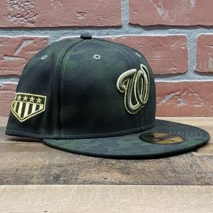 NEW!! Mens New Era Washington Nationals Camo